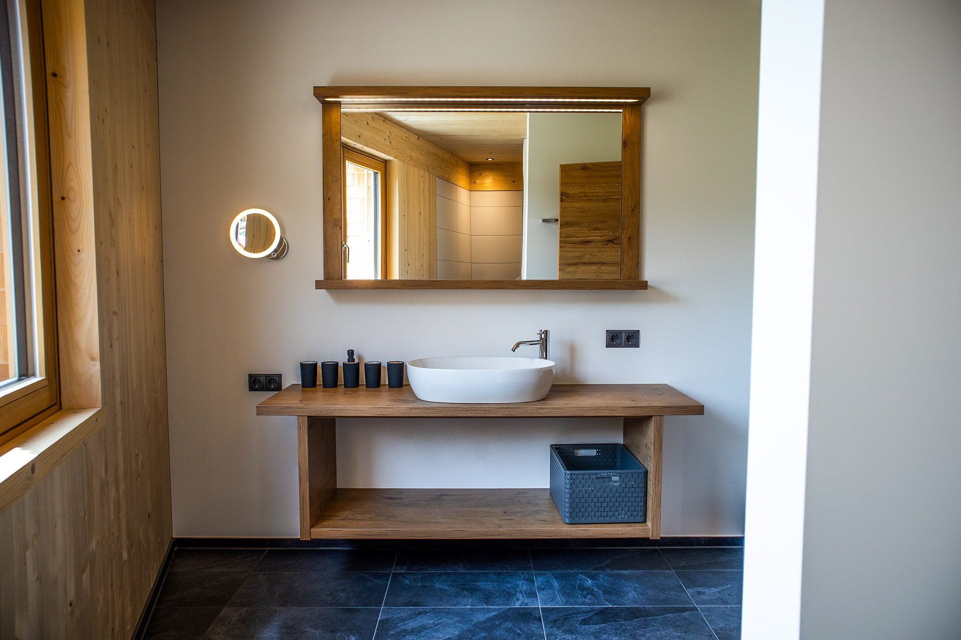 Badezimmer Apartment Oben am Berg Balderschwang