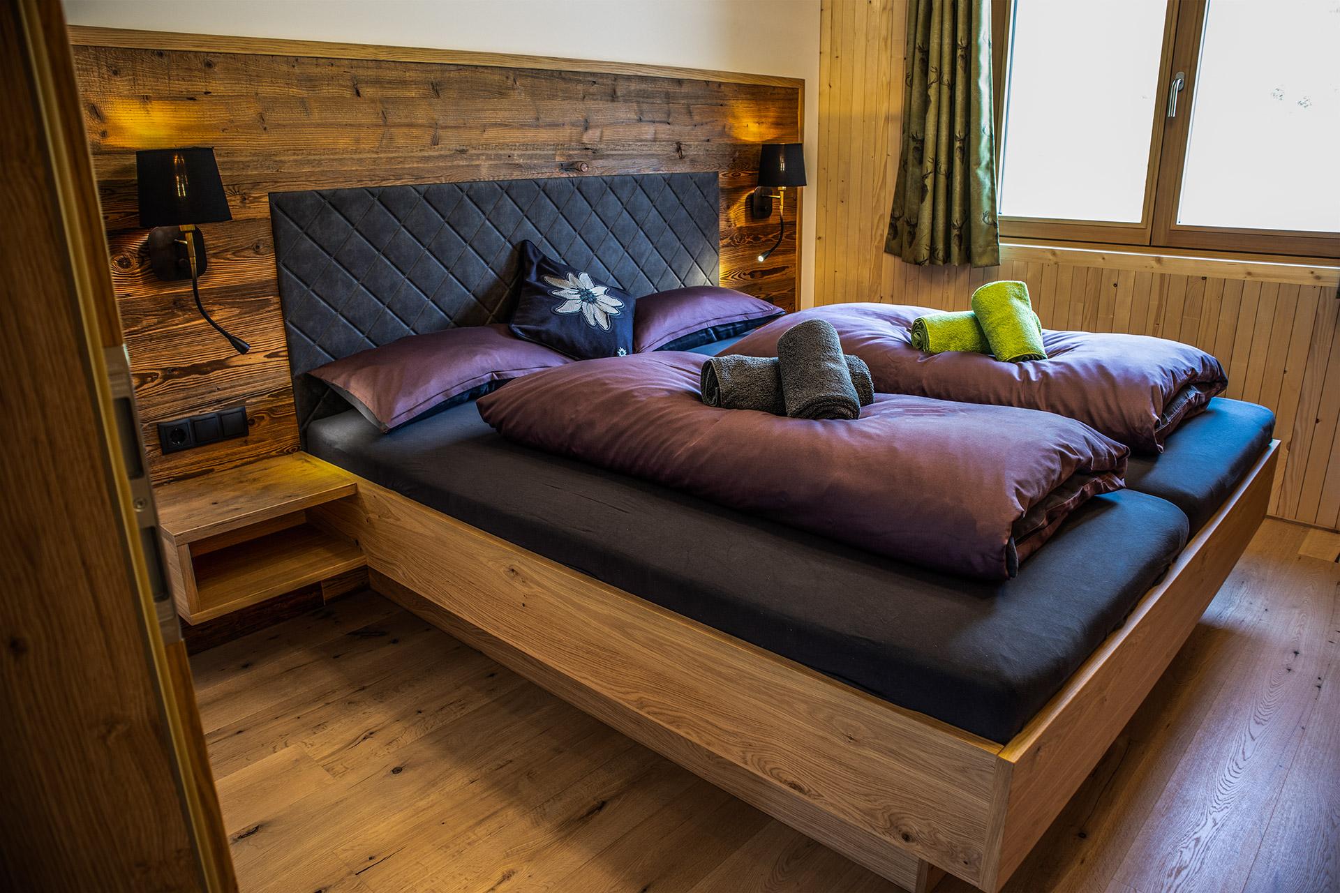 Schlafzimmer Oben am Berg Balderschwang