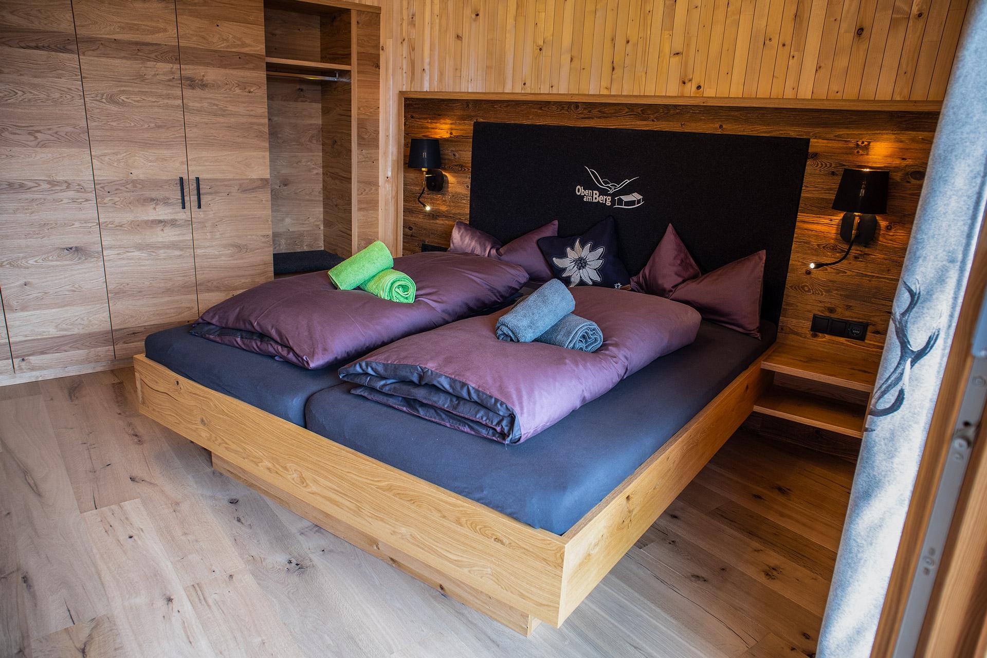 Schlafzimmer Gäsehaus Oben am Berg Balderschwang